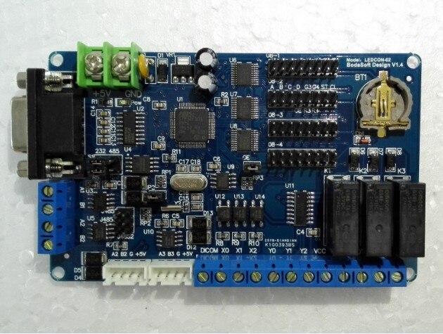 LED kontrol kartı 3 röle çıkışı trafik ışığı kontrol kapı kontrol otoyol geçiş ücreti