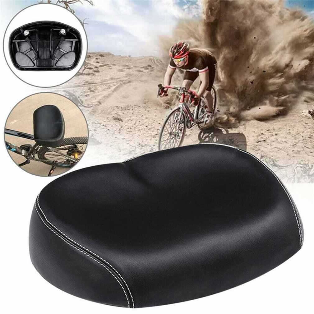 Big Bum Bike Bicycle Cycling Noseless Saddle Wide Large Soft  PU Pad Seat