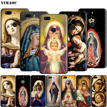 Yimaoc Retro Vintage Statue Virgin Maria Silicone Case for Oneplus 7 Pro 6t 6 5t 5(China)