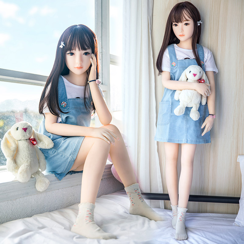 Image 2 - Hanidoll Silicone Sex Dolls 128cm Mini Real Sex Doll Love Doll TPE Anime Realistic Male Sex Doll Life Size TPE Doll Loli Toys-in Sex Dolls from Beauty & Health