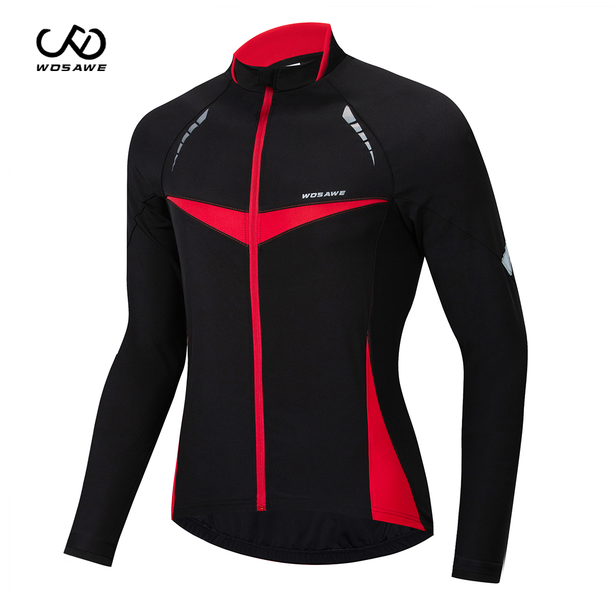 WOSAWE Winter Outdoor Sports Thermal Cycling Jackets MTB Bike Jacket Windproof Water Repellet riding Coat Bike Cycle Clothing