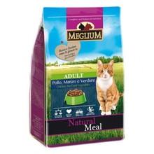 Корм сухой для кошек Meglium adult говядина, курица,вощи, 1,5кг