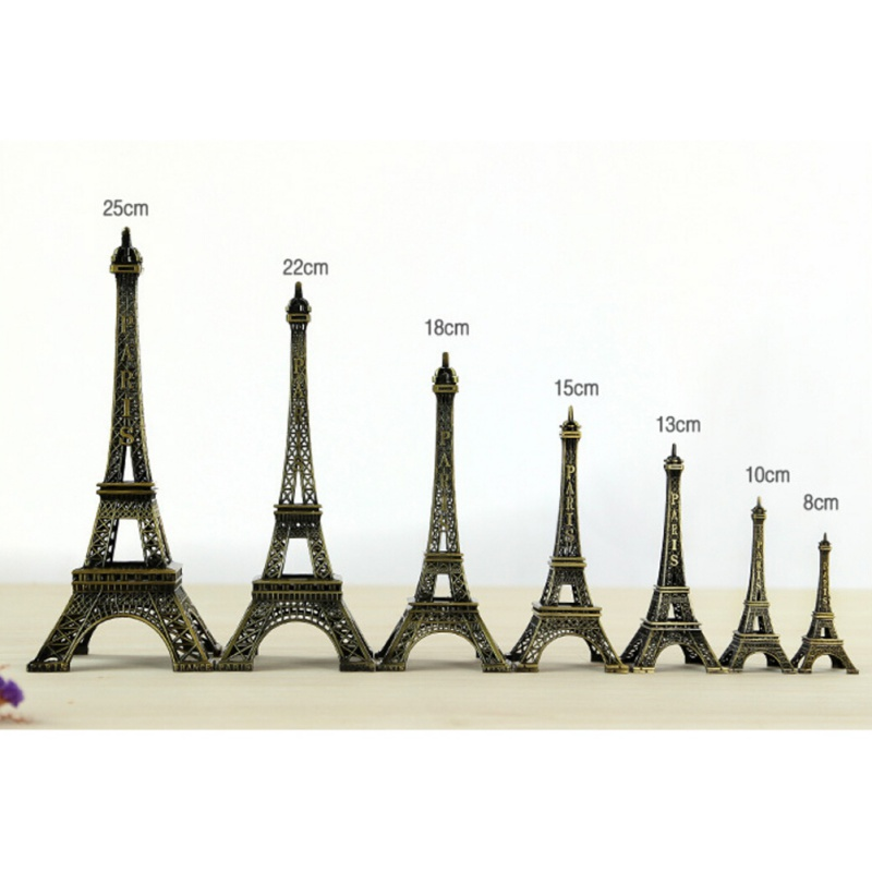 Souvenirs Statue Model-Figurine Paris Eiffel-Tower Gifts Metal-Art Home-Decorations Travel title=