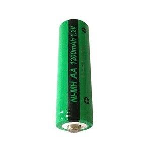 Image 2 - 16x NiMH AA 충전식 배터리 PKCELL 1200mAh 1.2V Ni MH 산업용 배터리 Bateria button Top