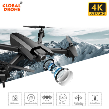 Global Drone 4K Drone Quadrocopter Dron Long Fly Time RC Helicopter Selfie Drones with Camera HD VS SG901 SG106 SG706 E58 E520 2