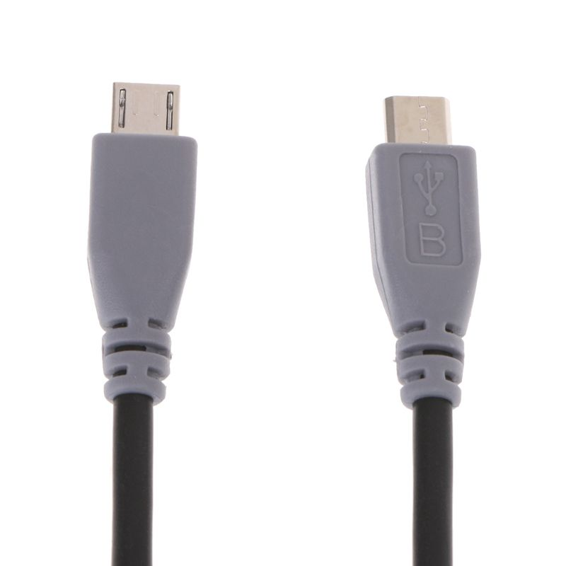 Micro USB Type B Male To Micro B Male 5 Pin Converter OTG Adapter Lead Data Cable LX9A