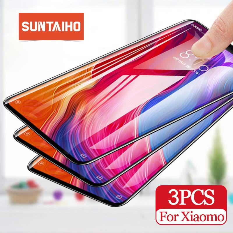 Suntaiho 3PCS Tempered Glass For XiaoMi RedMi Note 7 8 Pro Screen Protector Glass For RedMi 7A 8 6 6A 5 5Plus Note7 Note8 Note8t(China)