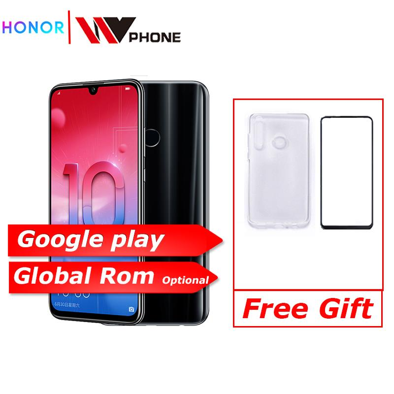 Honor 10 Lite Honor10 Smart Phone 6.21 Inch 2340*1080 Octa Core Mobile Phone 3 Cameras Fingerprint