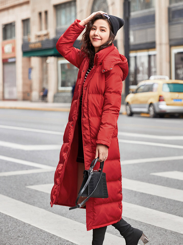 Winter Jacket Women Parka Warm Coat Black Down Jacket Women Clothing Long Women Jacket Korean Parka Mujer Memory Fabric  MK26