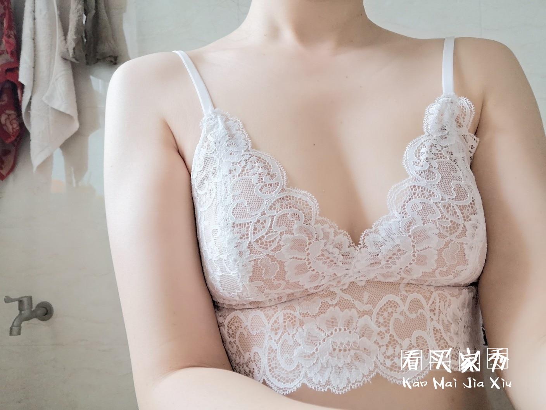 [好奇小姐的内衣店]法式三角杯内衣买家秀,精致舒服超有女人味
