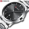 Новые мужские часы люксовый бренд CURREN Мужские кварцевые часы мужские часы из нержавеющей стали мужские наручные часы Relogio Masculino