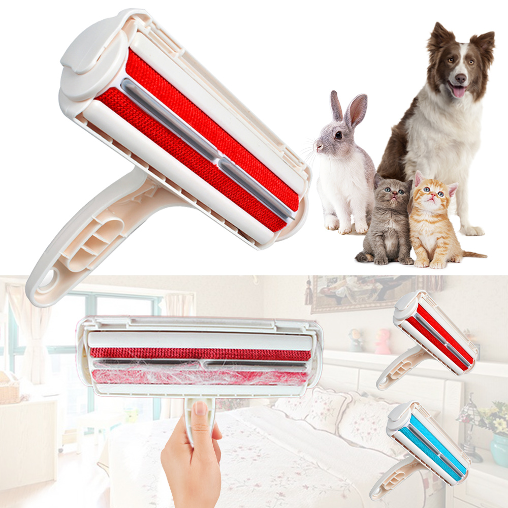 PAPASGIX HOT SALE Pet Hair Cleaning Brush Sofa Carpets Remover Animals Hair Comb Pet Cleaning Sticky Hair Brush