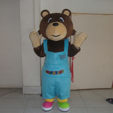 Halloween costume bear cartoon character mascot ball