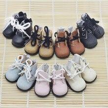 4.5*2.5cm sapatos para coreia kpop 15cm 20cm exo estrelas bonecas brinquedo botas 1/6 tênis de pelúcia bonecas accessorries boneca brinquedos