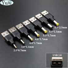 Power-Supply-Adapter-Connector Type Usb-2.0 Male DC 5V Yuxi Mm-Plug