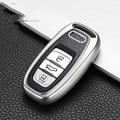 Car Key Cover Fob Case Shell For Audi A1 A3 A4 A5 A6 A7 A8 Quattro Q3 Q5 Q7 2009 2010 2014 2012 2013 2015 2011 Accessories