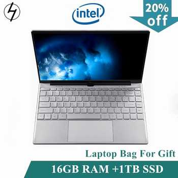 LHMZNIY Laptop 14.1 inch Windows10 Notebook 16GB RAM 1T SSD HD screen intel 1.8GHz WIFI Camera slim Student laptop Office game - Category 🛒 All Category