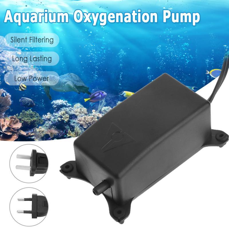 Ultra Low Noise Aquarium Air Pump Fish Tank Mini Air Compressor Oxygen Pump Aquarium Fish Tank Oxygen Pump Fish Accessories New