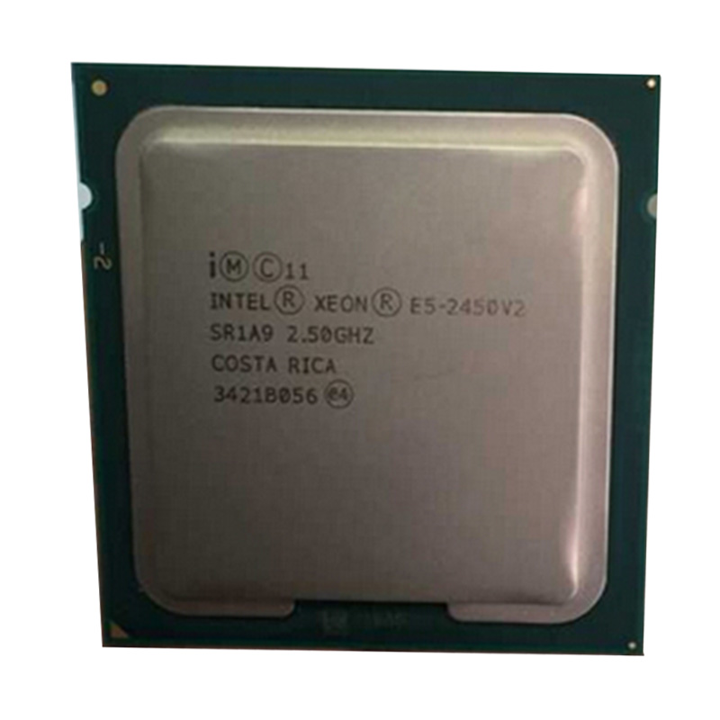 Pulled E5-2450 V2 Server <font><b>cpu</b></font> 2.5G 20M 8Core 16 thread LGA1356 Processor image