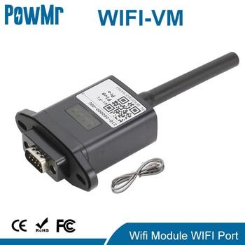 Módulo inalámbrico WiFi CON RS232, solución de monitoreo remoto para inversor de energía Solar híbrido fuera de la red, Puerto WIFI 1