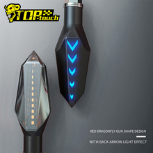 Duch bestia motocykl włączone światła wodoodporny zmodyfikowany samochód włączone światła LED kierunek światła dekoracyjne światła #