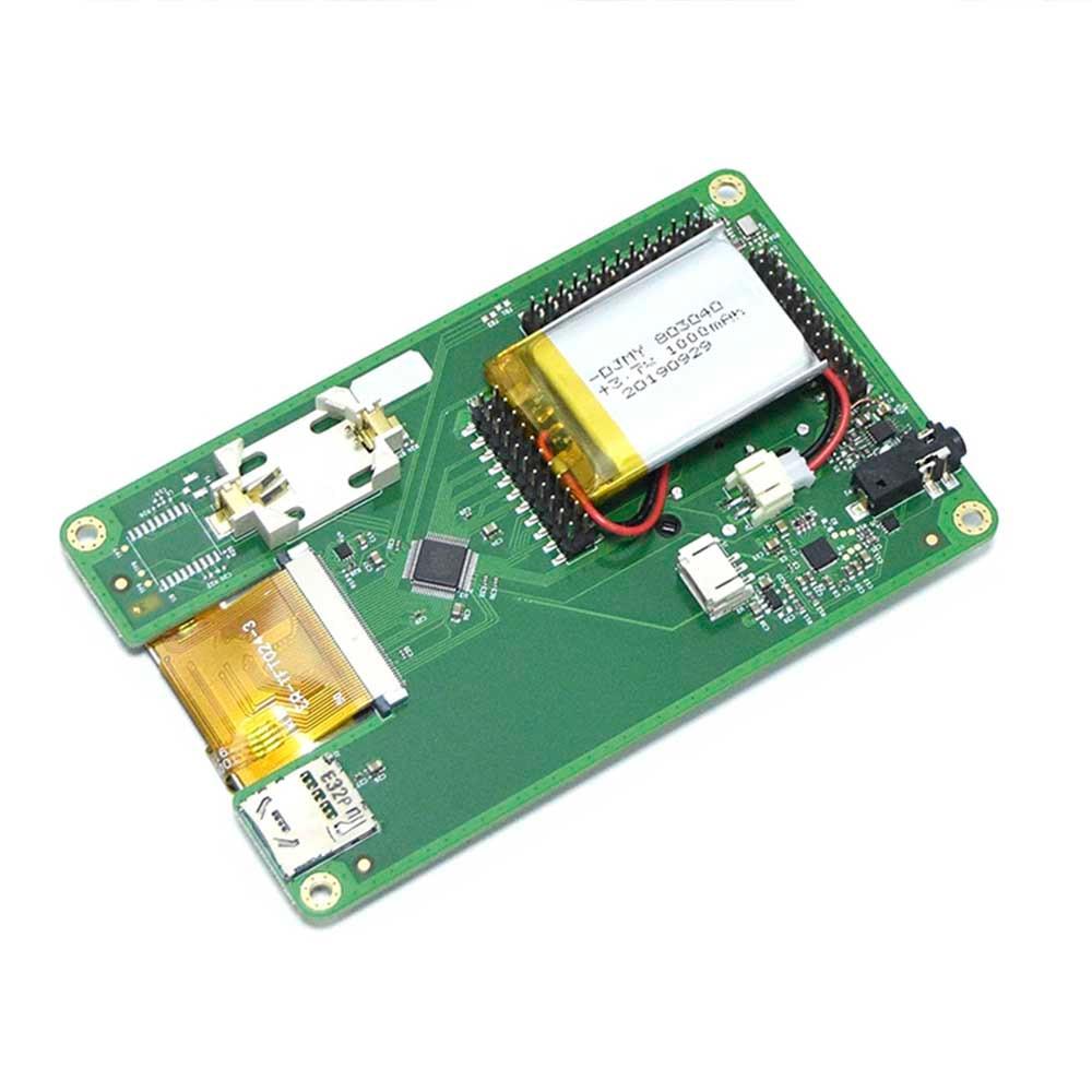 PORTAPACK For HACKRF ONE SDR + 0.5ppm TCXO + 1000mAh Battery + 2.4