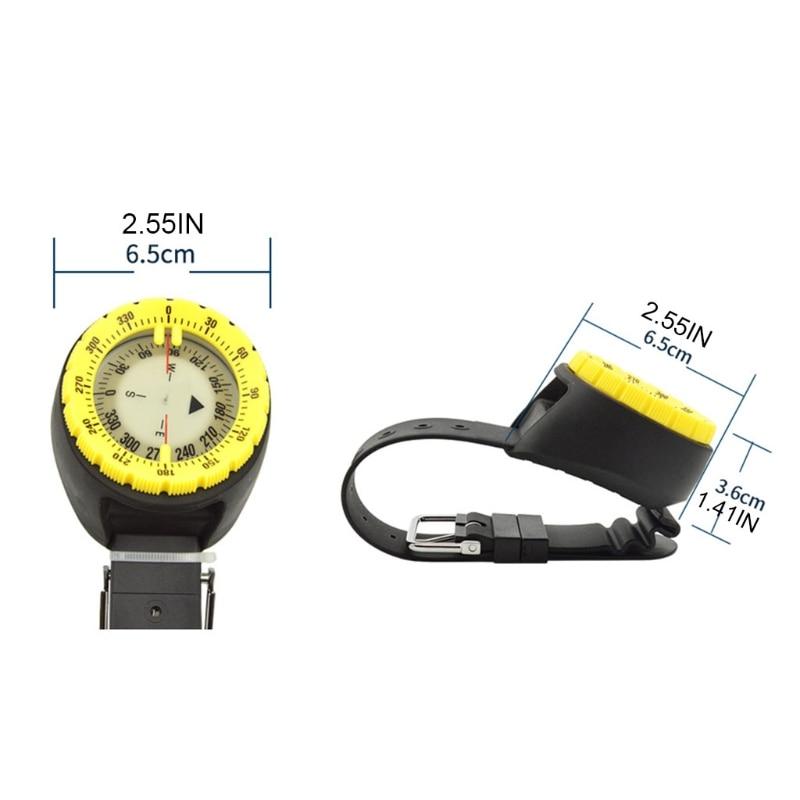 Underwater 50m Diving Compass Professional Waterproof Navigator Digital Scuba