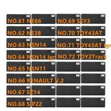 Diastar 61 72 Lishi 2 in 1 เครื่องมือ NE66 NE38 NSN14 IGN NSN11 SZ14 SIP22 SSY3 TOY43AT ของเล่น 2 TRACK สำหรับ Renault V.2