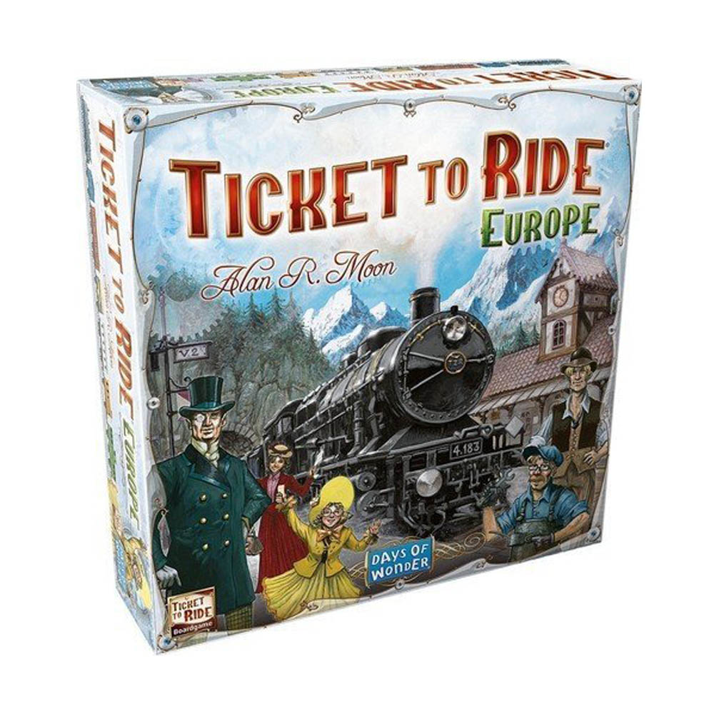 Ticket To Ride Board Game Day Of Wonder Card Game Trade Party Deck Game Family Friends Entertainment Party Playing Card Games image