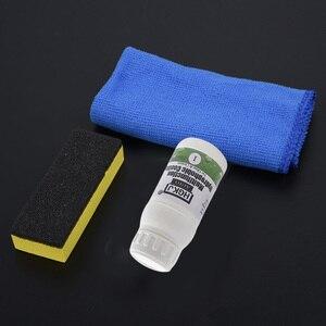 Image 3 - 20ml di Vetro Auto Nano Idrofobo Spruzzo Agente di Rivestimento Impermeabile + Spugna liquido Kit Per Auto di Vetro Nano Rivestimento Idrofobo acqua