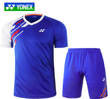 New Genuine YONEX Yonex yy badminton clothing men and women quick-drying sports suit jersey 210170