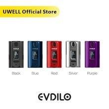 UWELL Evdilo Box Mod 200W wsparcie Dual 18650 20700 21700 baterie szybkie wypalanie pasuje do Valyrian II Tank e papieros Vape Mod