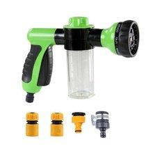 Вспененный водяной пистолет для мойки автомобиля, бытовые инструменты для мытья автомобиля, распылитель воды для двора, Трубная насадка, инструменты для посыпания, вращающийся Спринклер