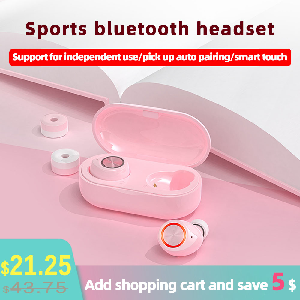 KOEX TW60 <font><b>bluetooth</b></font> sport kopfhörer Lade Box mit headset <font><b>gamer</b></font> button control wireless soundpeats für iPhone Android ohrhörer image