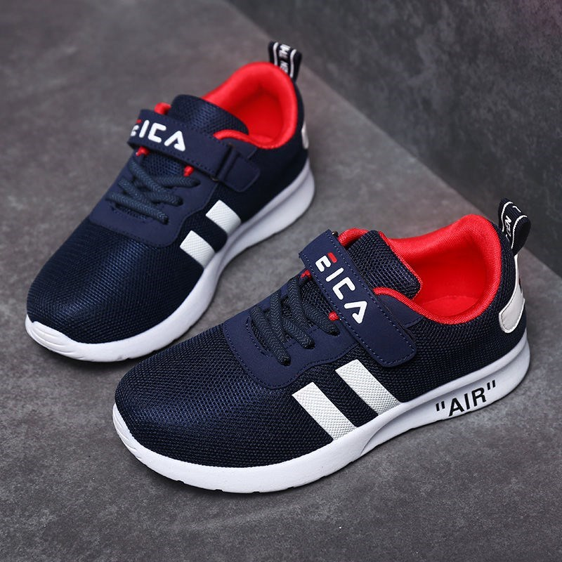 Kids Running Sneakers Casual Boys Girls Trainers Casual Walking Sport Shoes For Breathable Mesh Brand Children Tennis Zapatillas