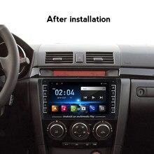 Auto Multimedia Radio-Player Für Mazda 3 BK Mazda3 2004-2012 Android Navigation Auto radio GPS Video Stereo Unterstützung russische/MP4