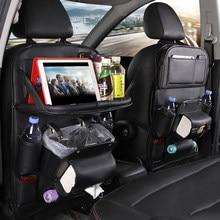 Uniwersalna torba do przechowywania oparcia samochodu zapobiega kopaniu brudnych tylnych siedzeń akcesoria samochodowe dekoracja wnętrz Organizer do samochodu
