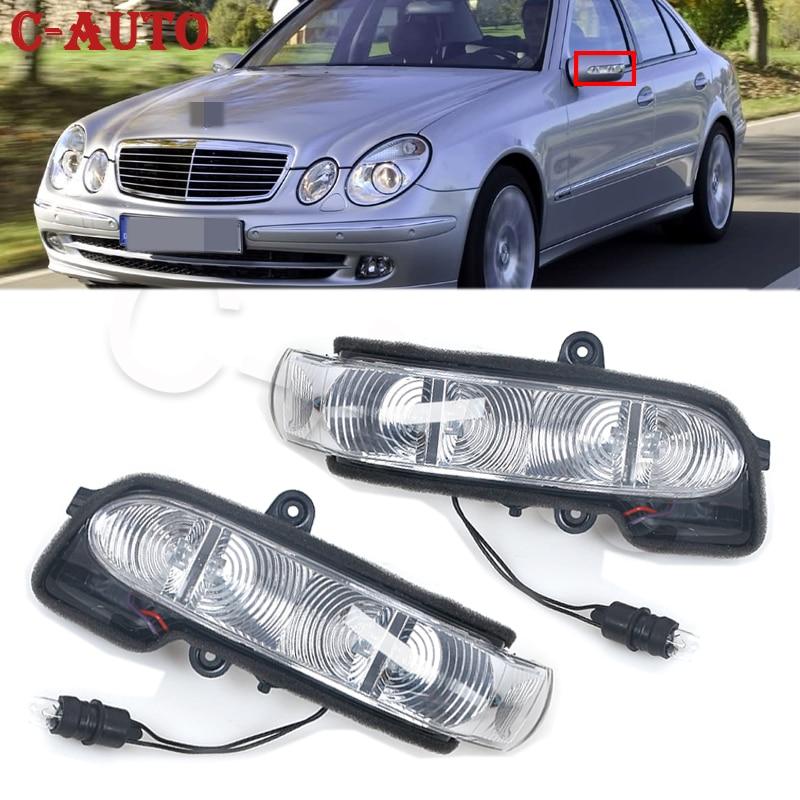C-авто боковое зеркало заднего вида светодиодный индикатор сигнала поворота светильник для Mercedes Benz W211 S211 W463 W461 C/E класс автомобиля для уклад...
