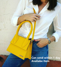 Jacquemus Hoge Kwaliteit Lederen Tas Voor Vrouwelijke Handtas Tote Vintage Crossbody Tas Clutch Handtas Vrouwen Schoudertas Merk