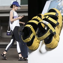 2020 summer new fashion wild fairy style sports Roman sandals female muffin thick bottom increased sandals Z1014 sandals female 2020 summer new fashion wild sports casual sandals increased thick bottom muffin sandals z922