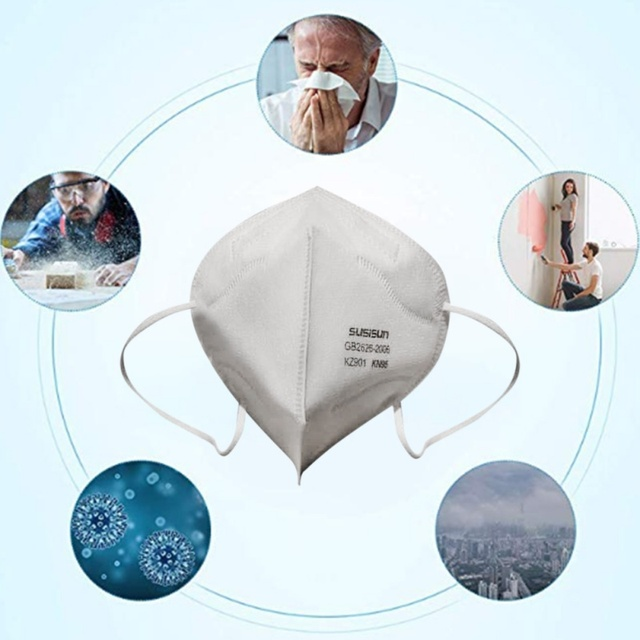Unisex Dust-proof Breathable Earring Mask Comfortable And Hygienic Mask Anti COVID-19 Flu Virus Drop Shipping 2