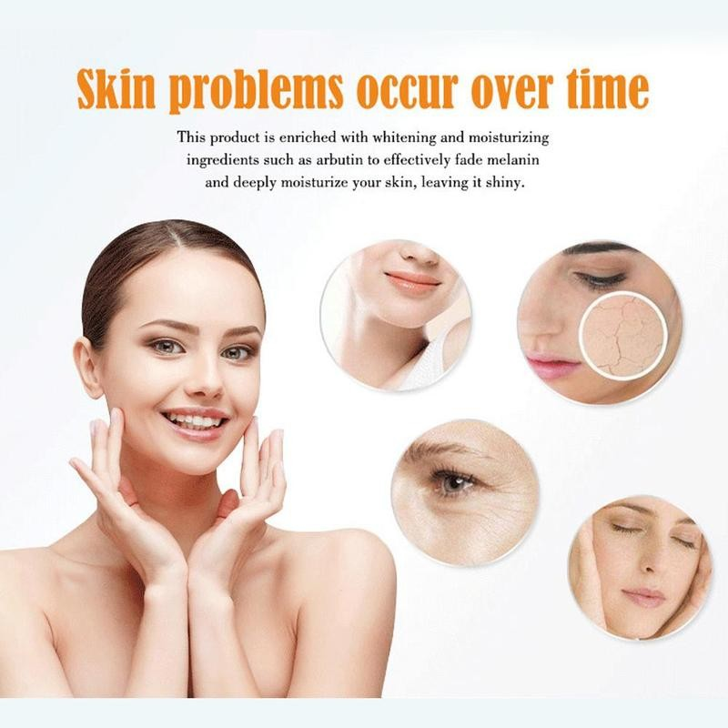 30ml Vitamin C Serum Hyalunic Acid Whitening Moisturizing Repair Vitamin Face Serum Firming Anti Wrinkle Essence Serum