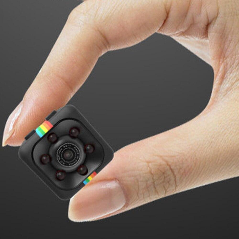 Мини-камера SQ 11 HD 1080P с датчиком ночного видения, видеокамера с датчиком движения, Цифровая микро-камера, Спортивная цифровая видеокамера, ма...