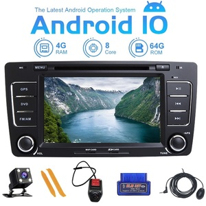 Image 1 - ZLTOOPAI Android 10 Car Radio 2 Din For Skoda Octavia Yeti Car Multimedia Player GPS Stereo Audio DVD Player Car Player IPS DSP