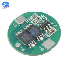 1 pcs bms Dual MOS 18650 Lithium battery protection board 18650 battery balancer charger accessories atmega