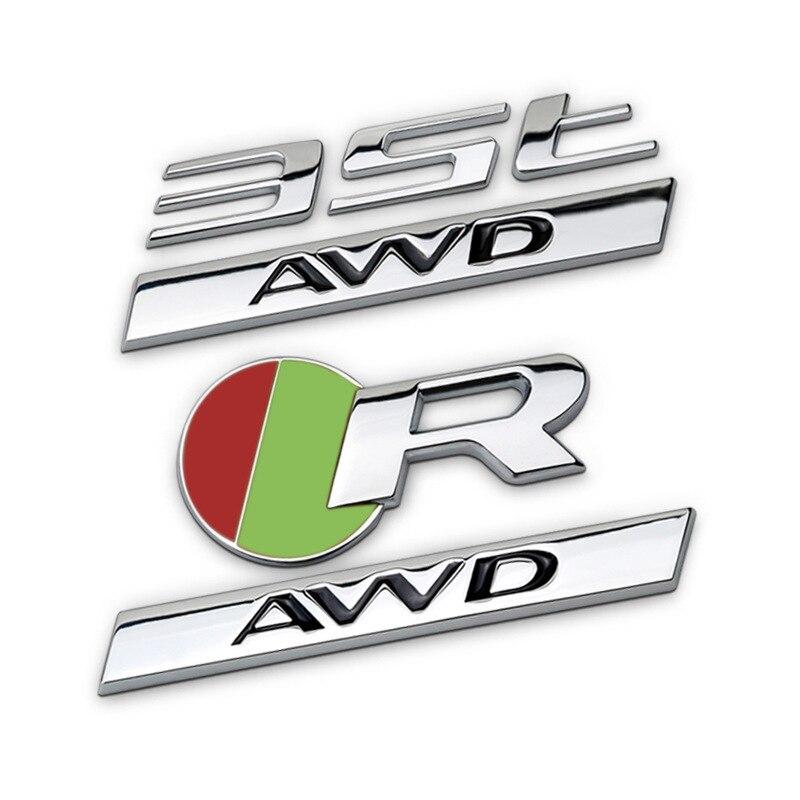 FORD RS Badge Emblem Sticker Logo Blue 3D Chrome Waterproof Focus RS Serie
