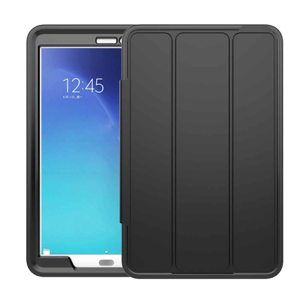 Auto Wake Sleep Smart Case For Samsung Galaxy Tab E 9.6Inch T560 Stand 3 Layers Full Protection Tablet Cover