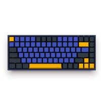 AKKO 3084 SP 84 touches + 9 touches de fonction Ocean Star Cherry MX commutateur clavier mécanique côté lettre ordinateur Gamer Programmable
