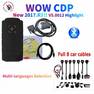Image 1 - 2021 Latest vd ds150e cdp pro plus with bluetooth v5.00812/2017.R3 with keygen on cd for delphis obd2 car truck scanner tool