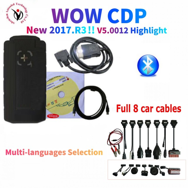 2021 Latest vd ds150e cdp pro plus with bluetooth v5.00812/2017.R3 with keygen on cd for delphis obd2 car truck scanner tool
